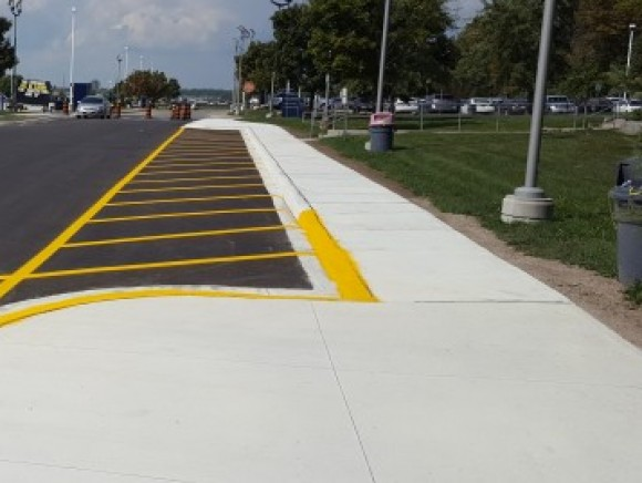 RVH Concrete Sidewalks